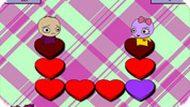 Игра Собери сердца