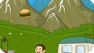 Игра Атака гамбургеров