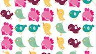 Игра Птички одного цвета