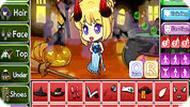 Игра Одевалка для Хэллоуина