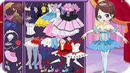 Игра Одевалка: балерина