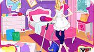 Игра Барби: уборка дома