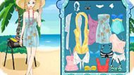 Игра Одевалка: пляж