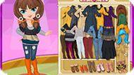 Игра Одевалка: модница