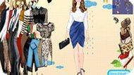 Игра Большая одевалка для девочек