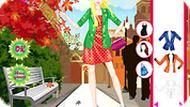 Игра Осень: одевалка