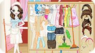 Одевалка: уборка