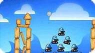 Игра Разбей роботов