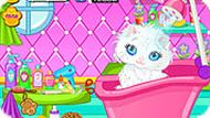 Игра Котёнок Барби