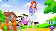 Игра Девочка из деревни