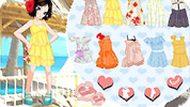 Игра Море: одевалка