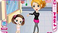 Игра Малышка: одевалка