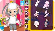 Игра Костюм кролика