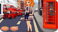 Игра Одевалка Лондон