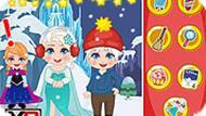Игра Новый год Эльзы