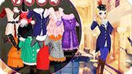 Игра Одевалка: девочка зимой