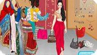 Игра Индия: одевалка