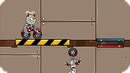 Игра Робот на велосипеде