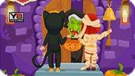 Игра Кошка и мумия