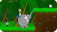 Игра Мальчик в джунглях