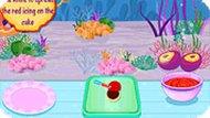 Игра Торт русалки
