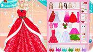 Игра Рождество: Барби