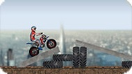Игра Трюки мотоцикла