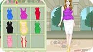 Игра Модное платье на сегодня