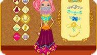 Одевалка для принцесс