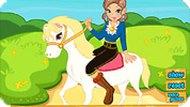 Принцесса на лошади