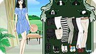 Игра Одевалки красивой девушки