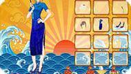 Игра Одевалка: сёстры