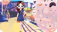 Игра Осенняя одевалка для девочки