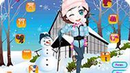 Игра Зимние снежки