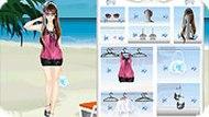 Игра Пляжная мода
