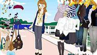 Игра Одевалка для девочек