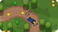 Игра Трактор-гонка