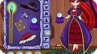 Игра Одевалка: волшебница
