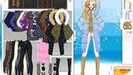 Игра Зимняя одевалка девочки