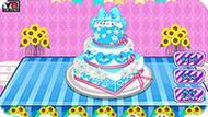 Игра Холодное Сердце: торт