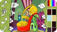 Игра Монстер Хай: обувь