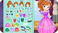 Игра Платье принцессы Софии