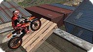 Игра Трюки на мотоциклах 3D