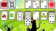 Игра Карты с Angry Birds