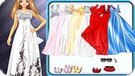 Игра Красивое выпускное платье