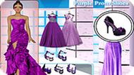 Игра Фиолетовый наряд