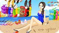 Игра Одевалка на пляже