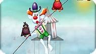 Игра Помогите клоуну