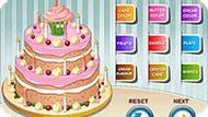 Торт дня рождения