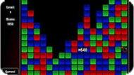 Игра Кубики три в ряд